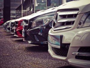 Mercedesy z wypożyczalni